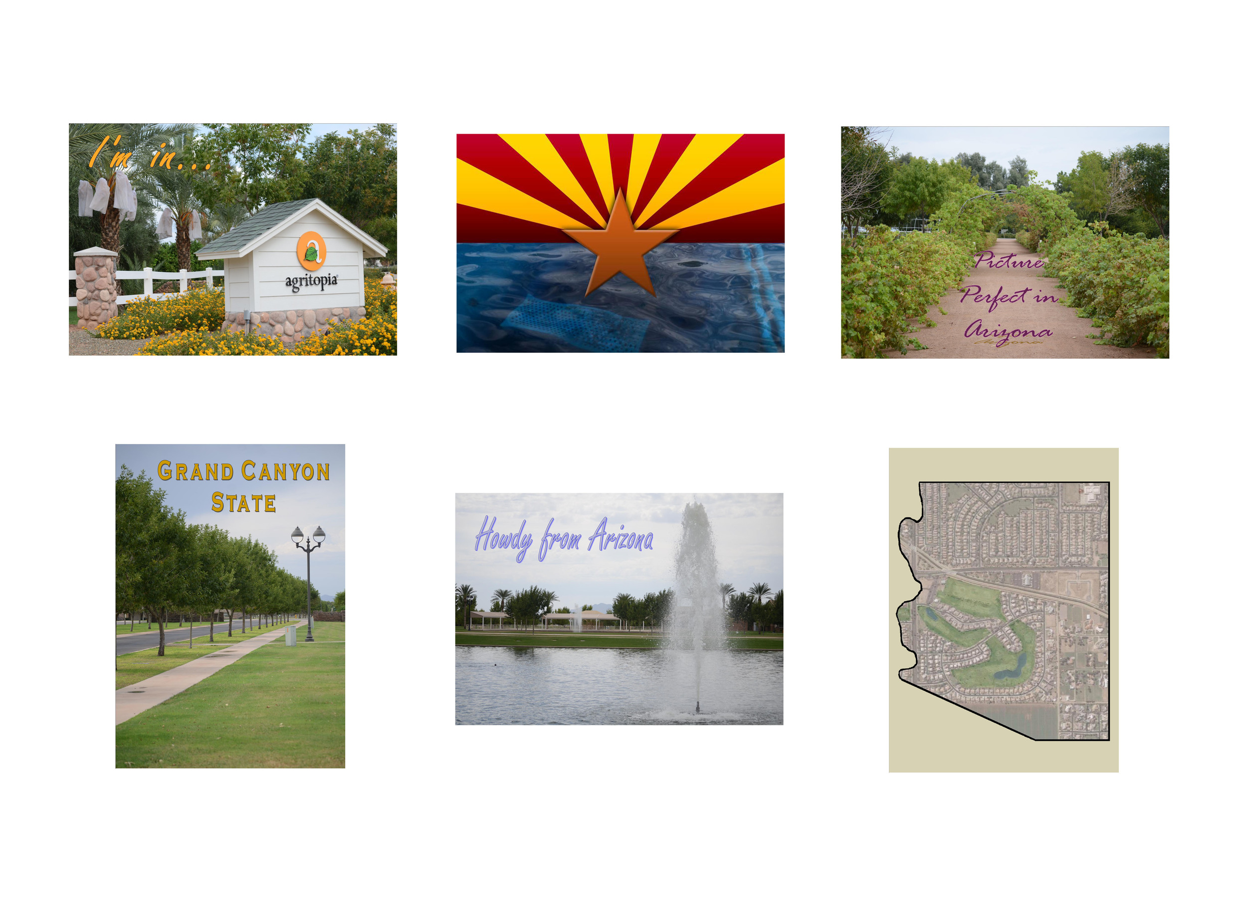 Arizona Postcards   Photo Postcards © 2011-2012, Gina DeGideo