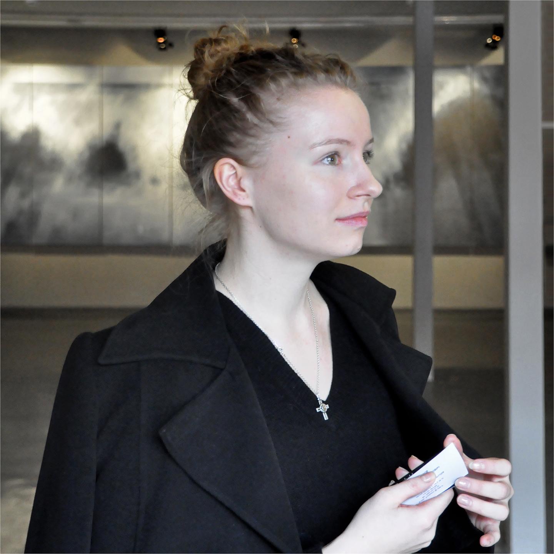 "Anna Chugunova at Winzavod Art Center, 2012  24"" x 24"""