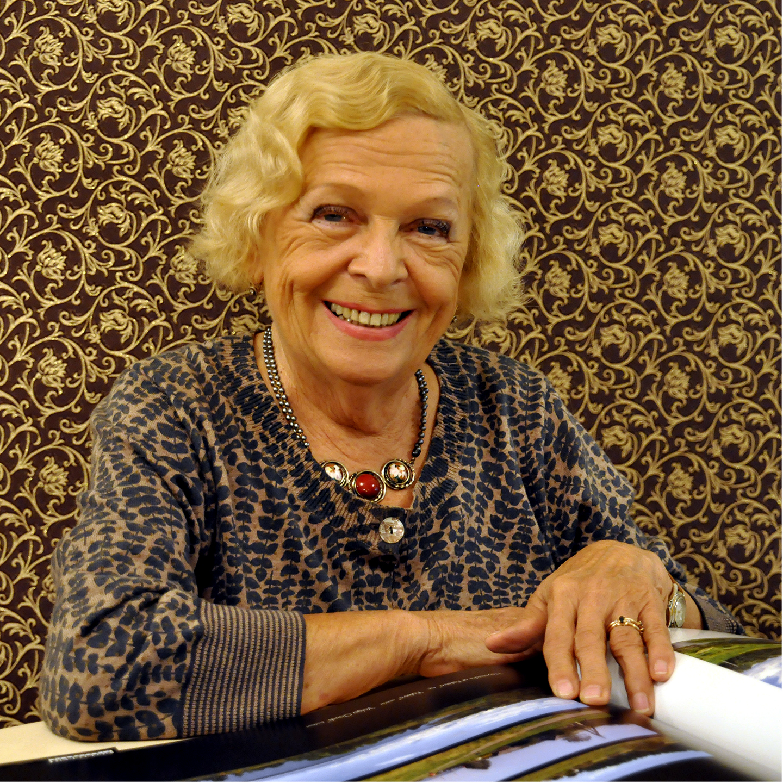 """Lidia Romashkova at the Tretyakov, 2011   24"""" x 24"""""""