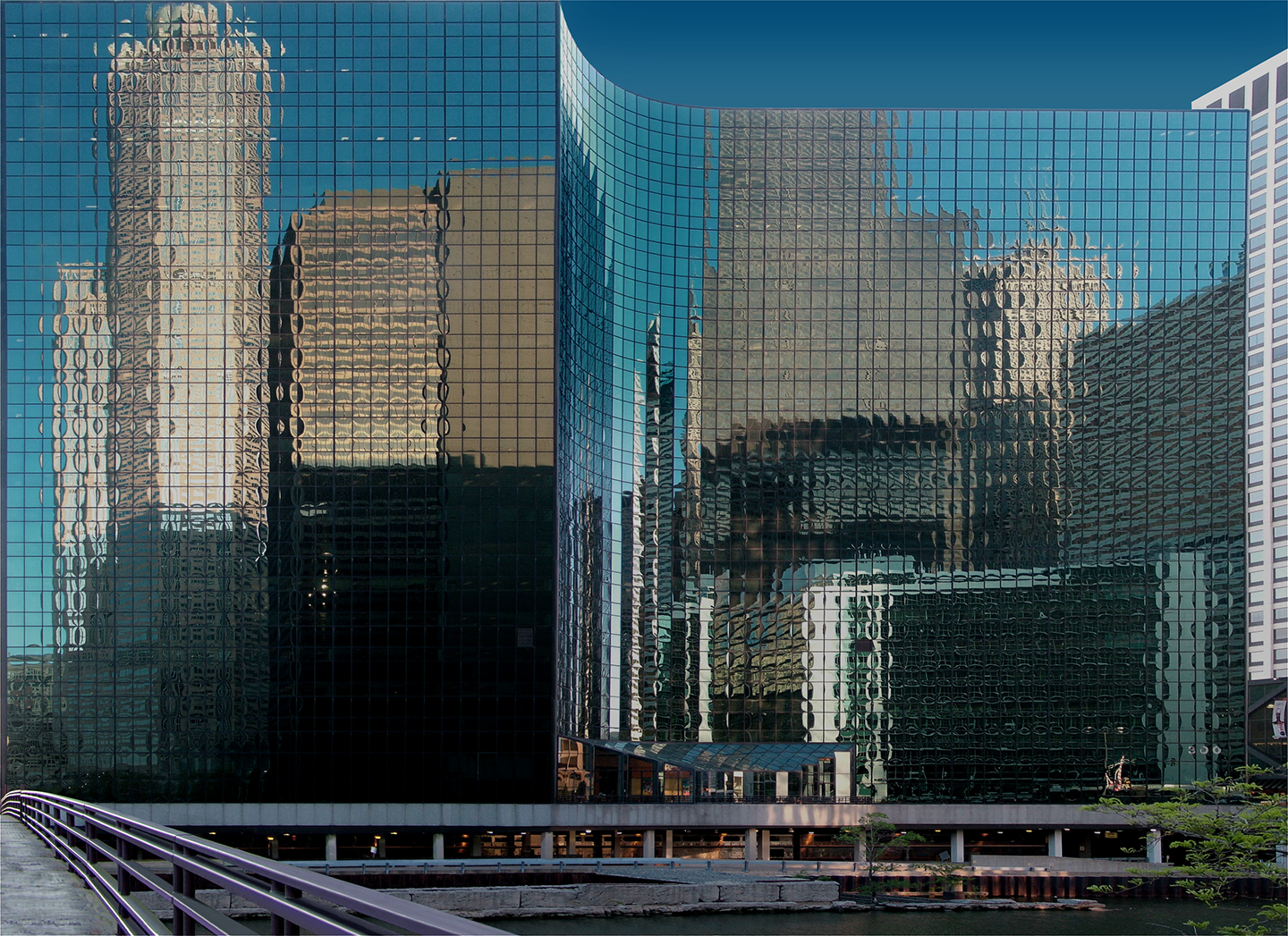 "300 South Riverside Plaza, 2008   36"" x 48"""