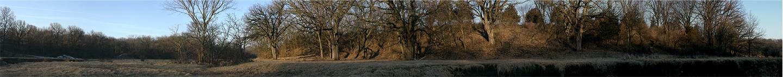"""Kickapoo Mudcreek No. 2, 2006  13"""" x 96"""""""