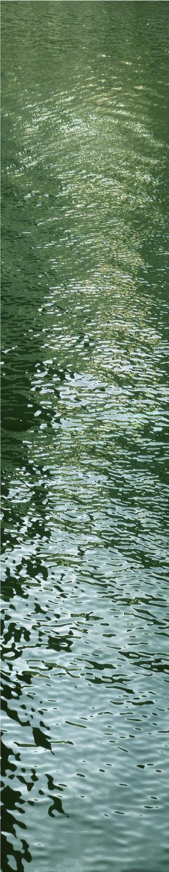 """River Light No. 3, 2002 76"""" x 18"""""""