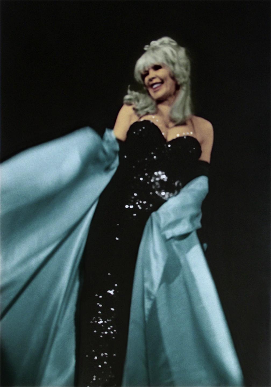 "Babette Bardot No. 3, 1968  20"" x 14"" Colorized 2005"