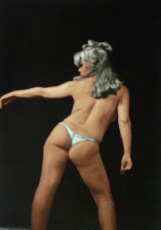 "Babette Bardot No. 15, 1968  20"" x 14"" Colorized 2005"