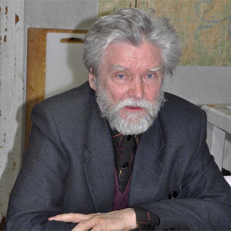 """Sergei Pishchugin at Chisty Pereolok, 2012   24"""" x 24"""""""