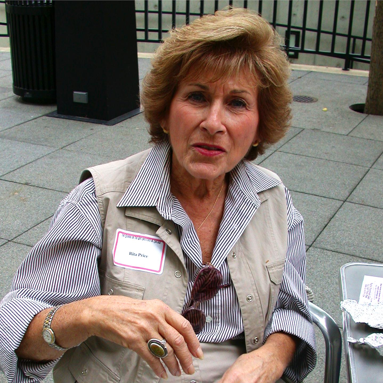 "Rita Price at the MCA, 2000  24"" x 24"""