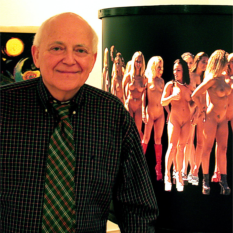 """Robert Natkin in Chelsea, 2003   24"""" x 24"""""""