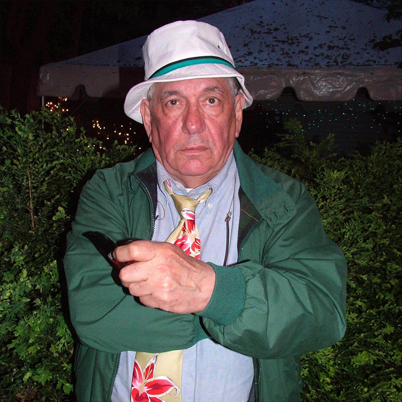 "C. Vincent Franco at August House, 2008  24"" x 24"""