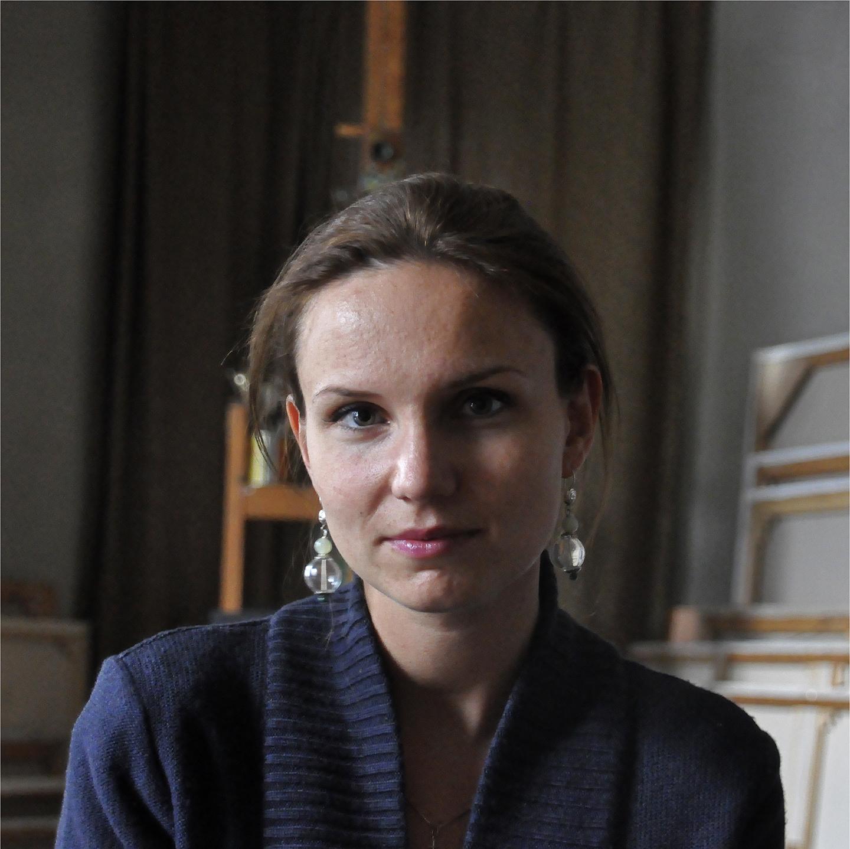 "Alexandra Semenova, 2012   24"" x 24"""