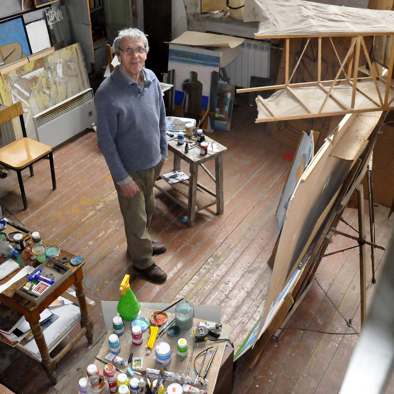 "Andrei Dillendorf Studio, 2012  24"" x 24"""