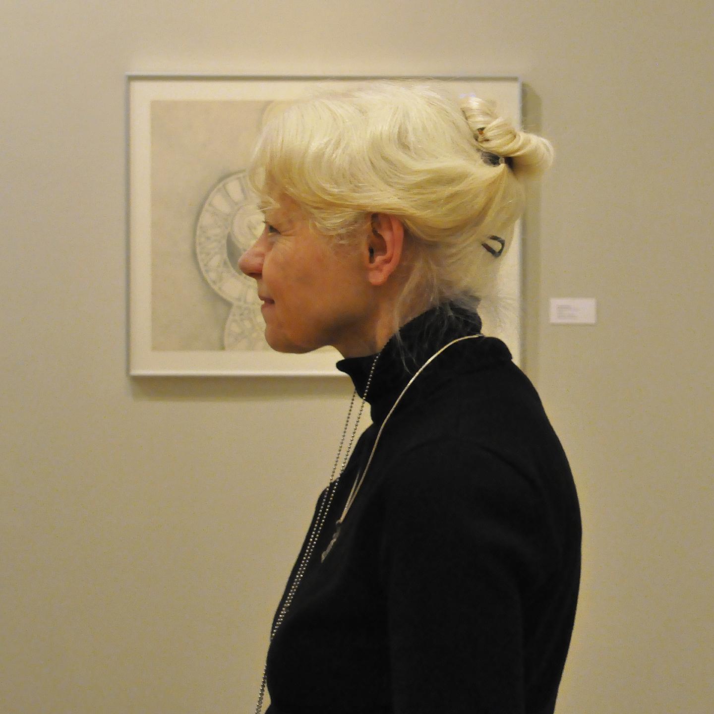 """Barbara Rossi (left), 2013   24"""" X 24"""""""