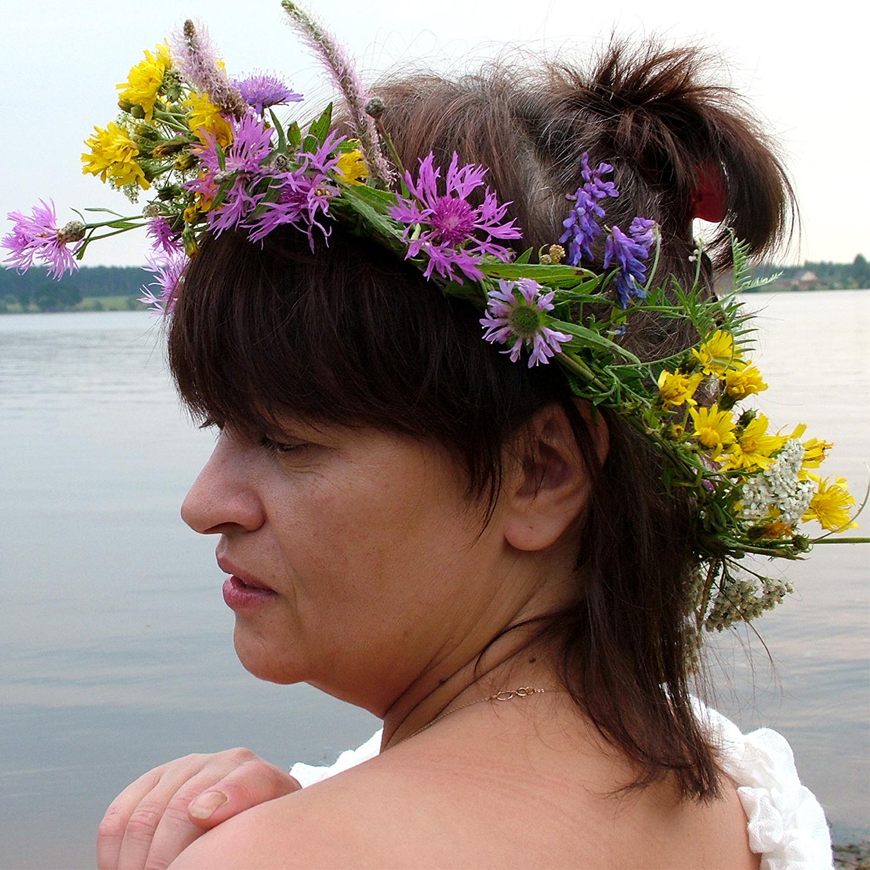 """Galina Troshkova as Maenad, 2008   24"""" x 24"""""""
