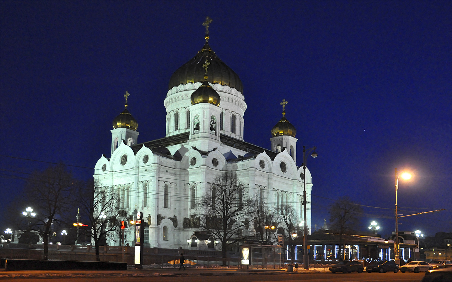 "Cathedral of Christ the Saviour, Moscow, 2012  30"" x 48"""