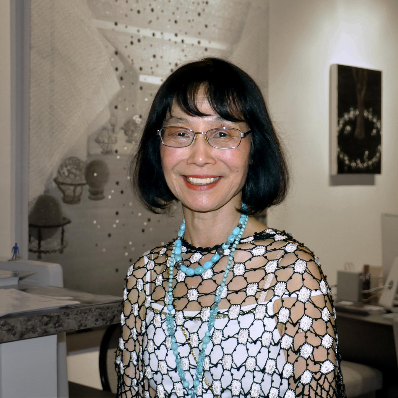 "Michiko Itatani, 2013   24"" X 24"""