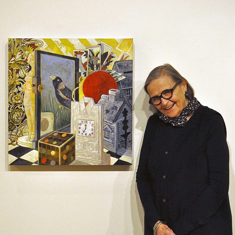 """Ellen Lanyon, 2011  24"""" x 24"""""""