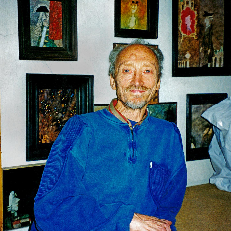 """Yevgeny Monin, 1998  24"""" x 24"""""""
