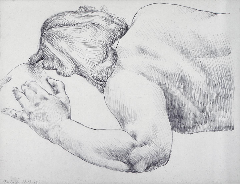 12.19.73 II, 1973  Pencil
