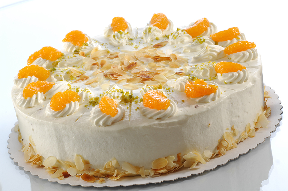 Mandarinen-Sahne-Torte