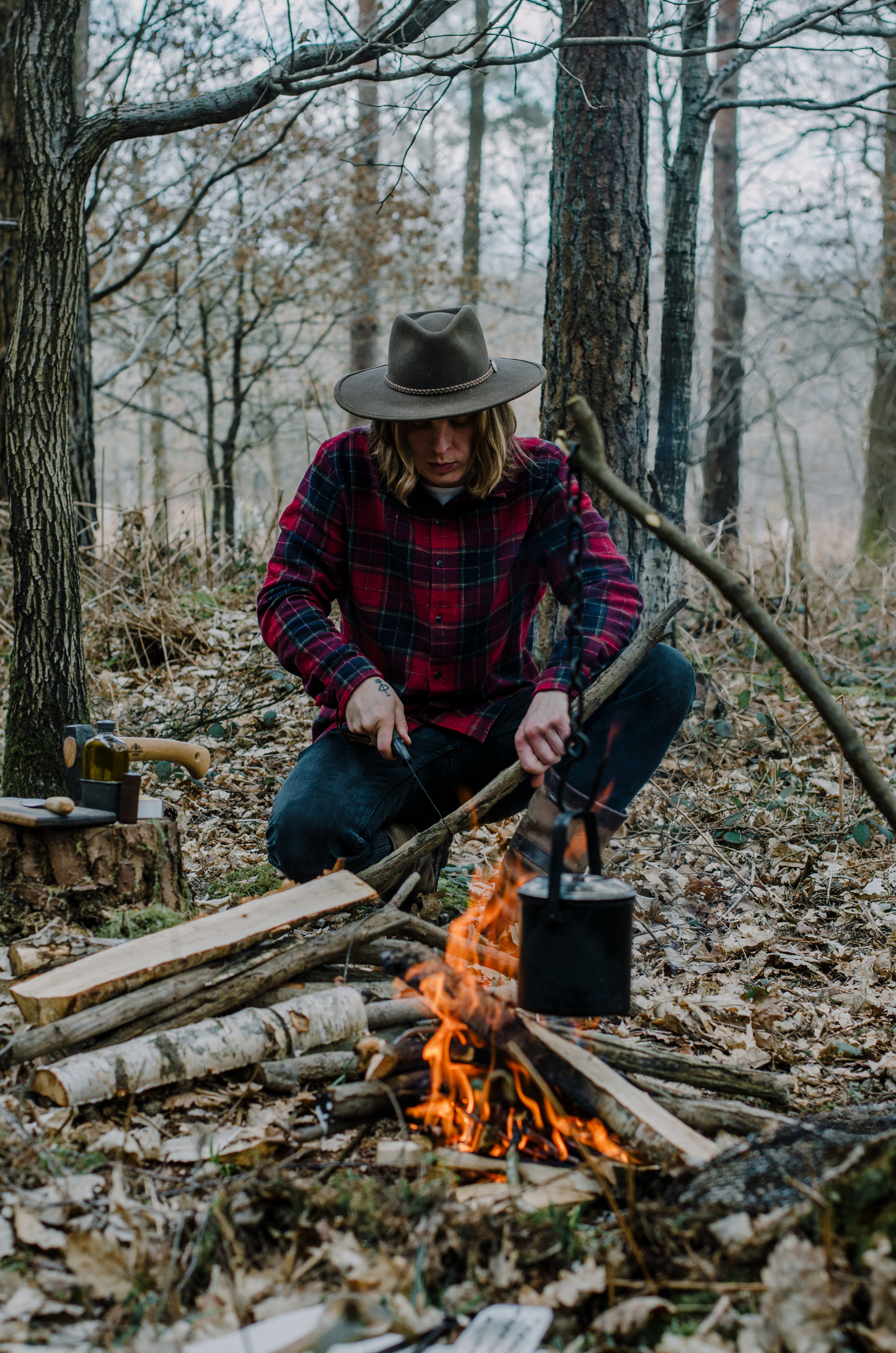 Fire & Wild- Wild Garlic & Campfire Dinner - Aiste Saulyte Photography-152.jpg