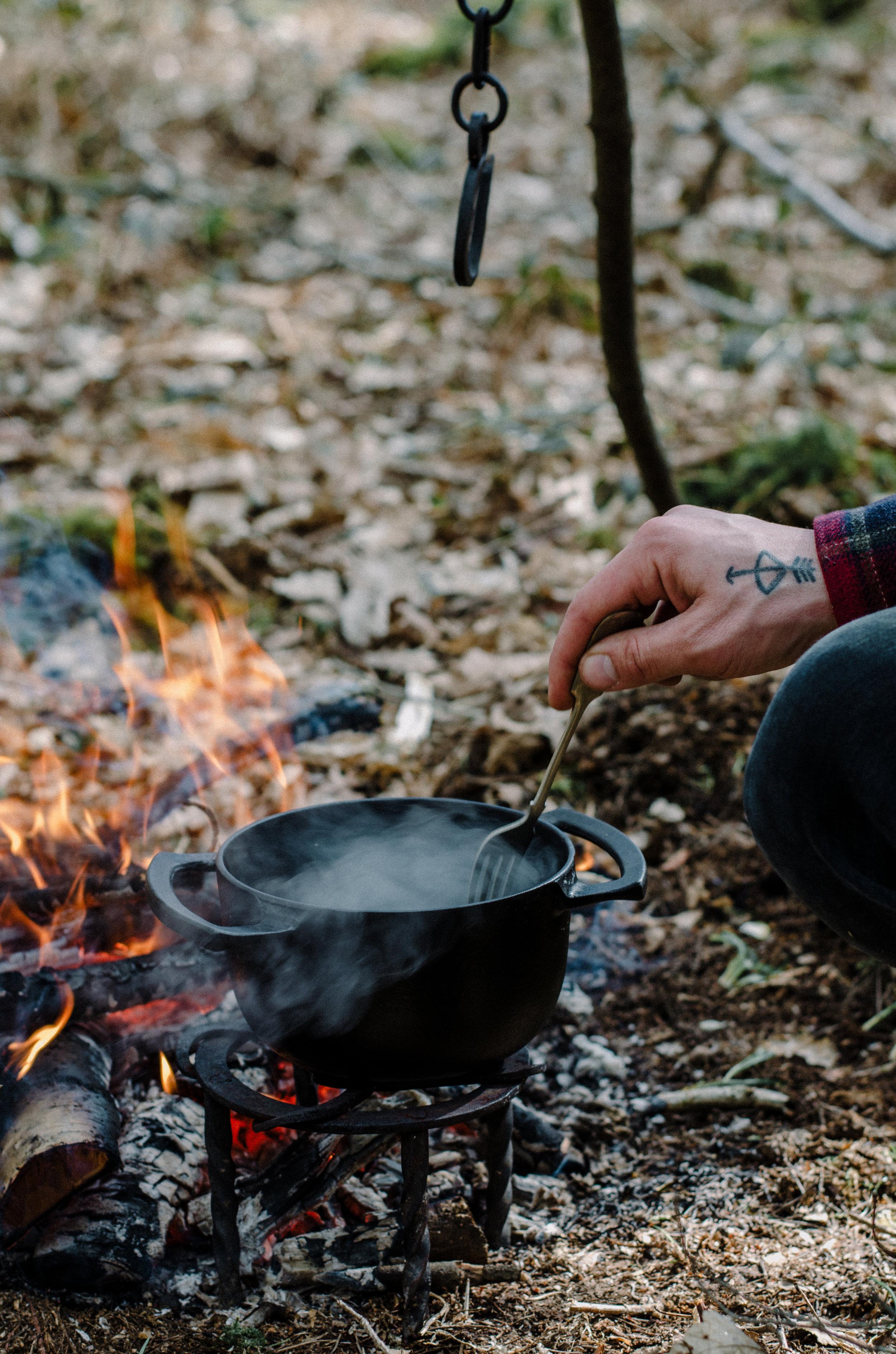Fire & Wild- Wild Garlic & Campfire Dinner - Aiste Saulyte Photography-181.jpg