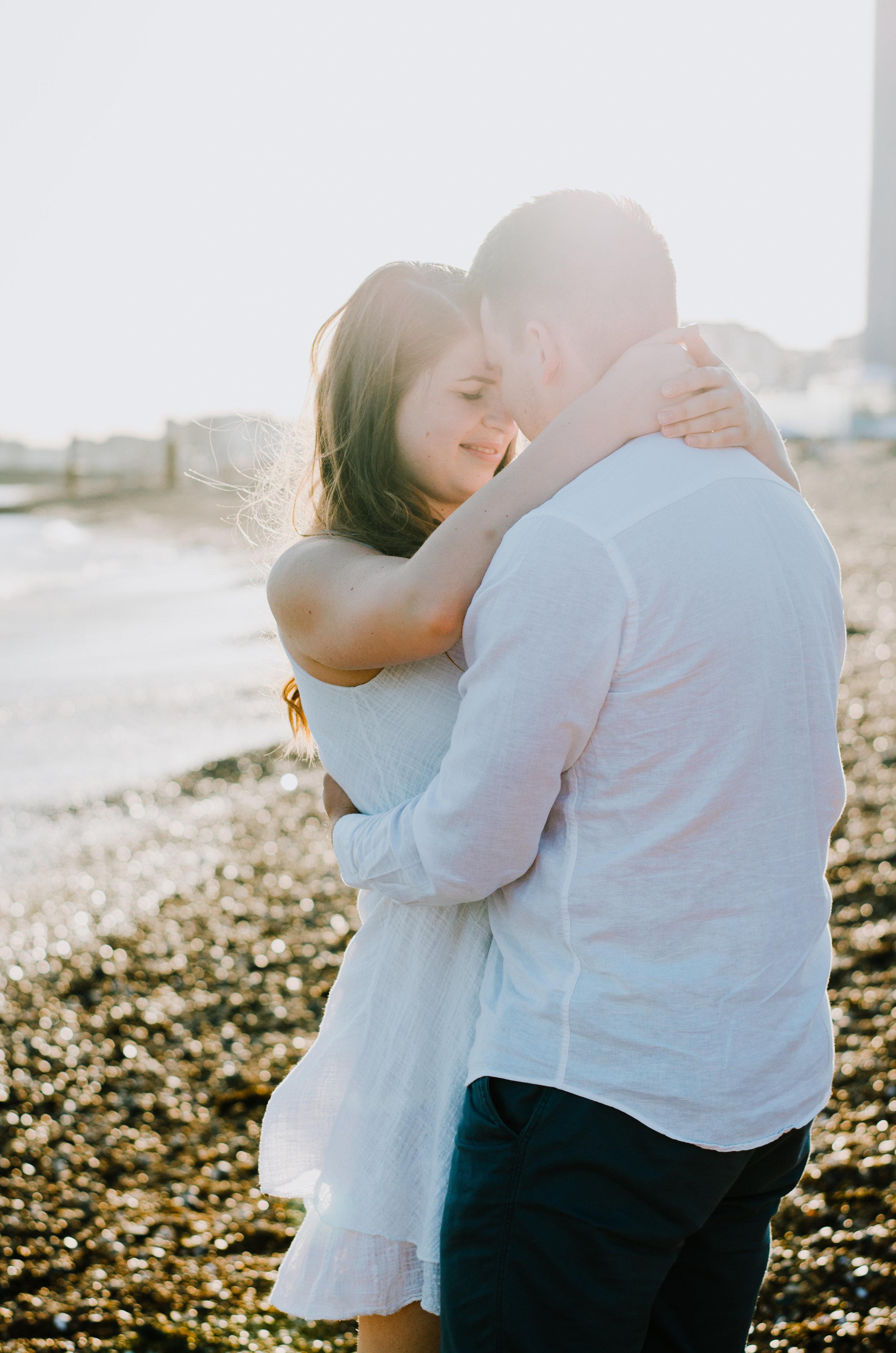 Ieva & Julius - Brighton Beach - Couple Session - Aiste Saulyte Photography-3.jpg