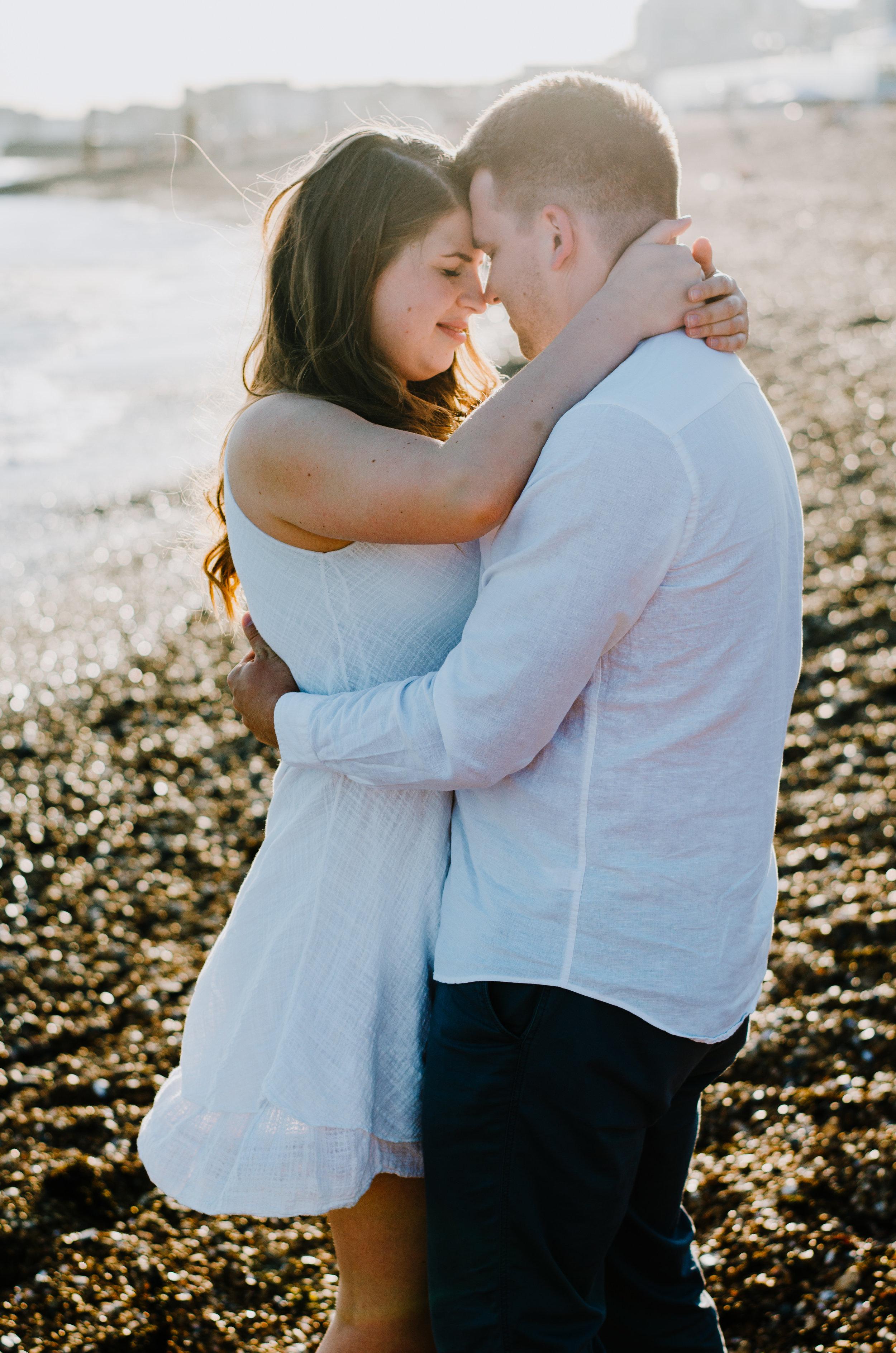 Ieva & Julius - Brighton Beach - Couple Session - Aiste Saulyte Photography-4.jpg