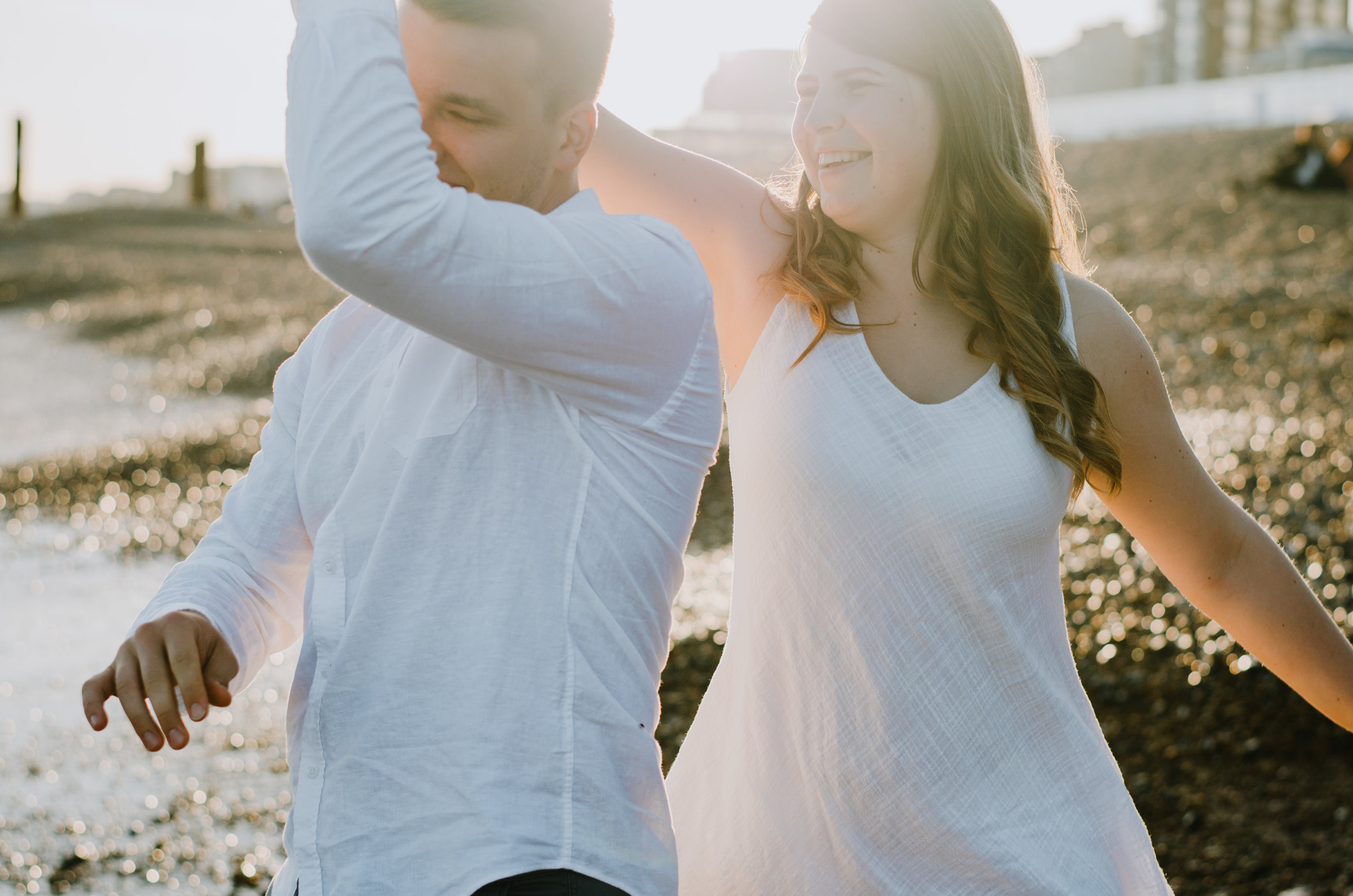 Ieva & Julius - Brighton Beach - Couple Session - Aiste Saulyte Photography-12.jpg