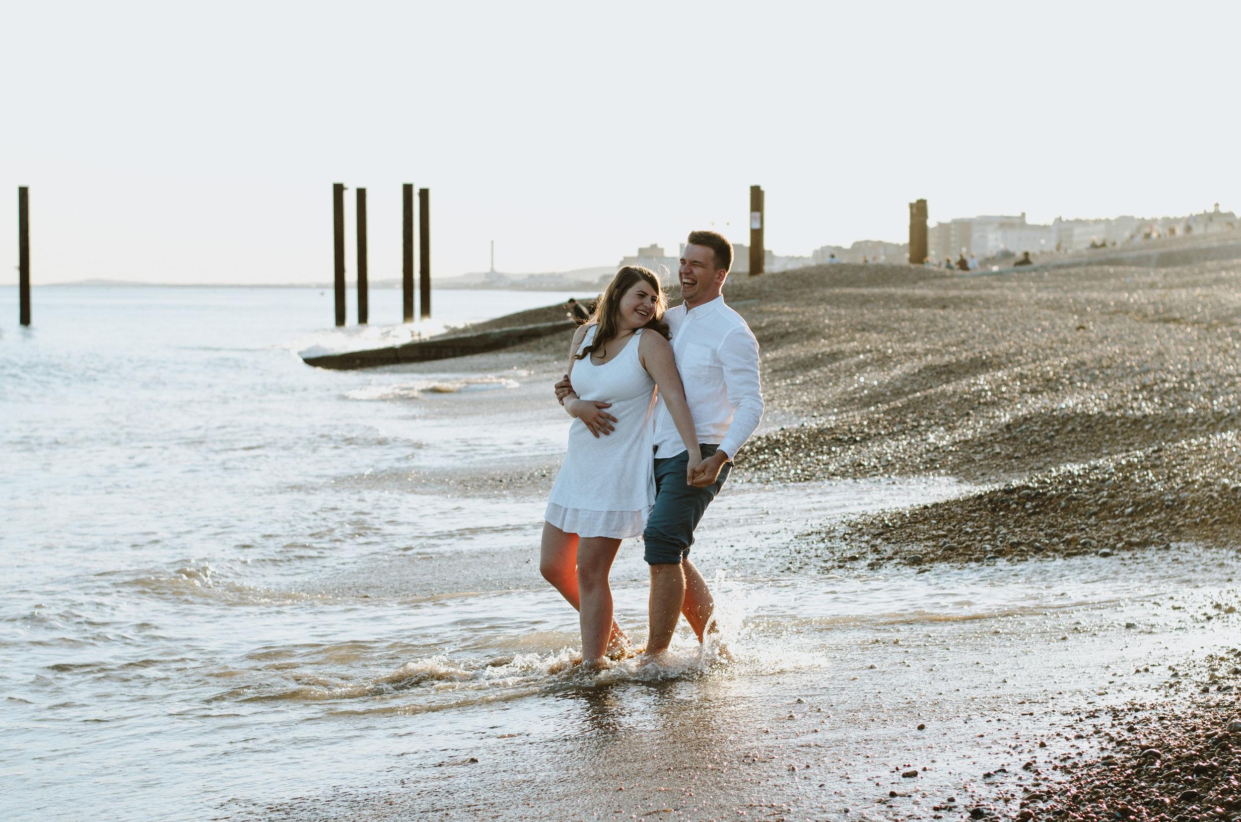 Ieva & Julius - Brighton Beach - Couple Session - Aiste Saulyte Photography-15.jpg