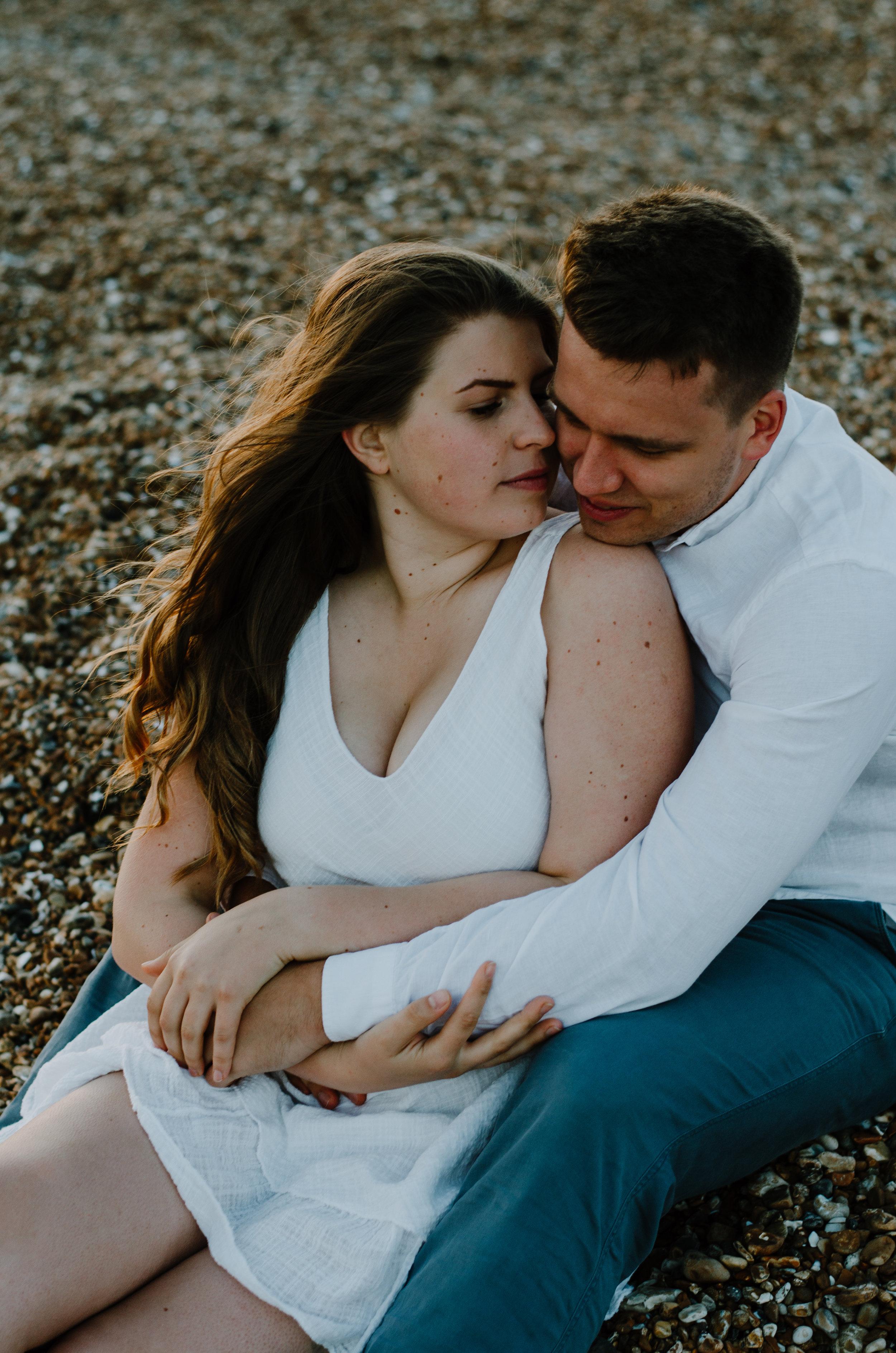 Ieva & Julius - Brighton Beach - Couple Session - Aiste Saulyte Photography-49.jpg