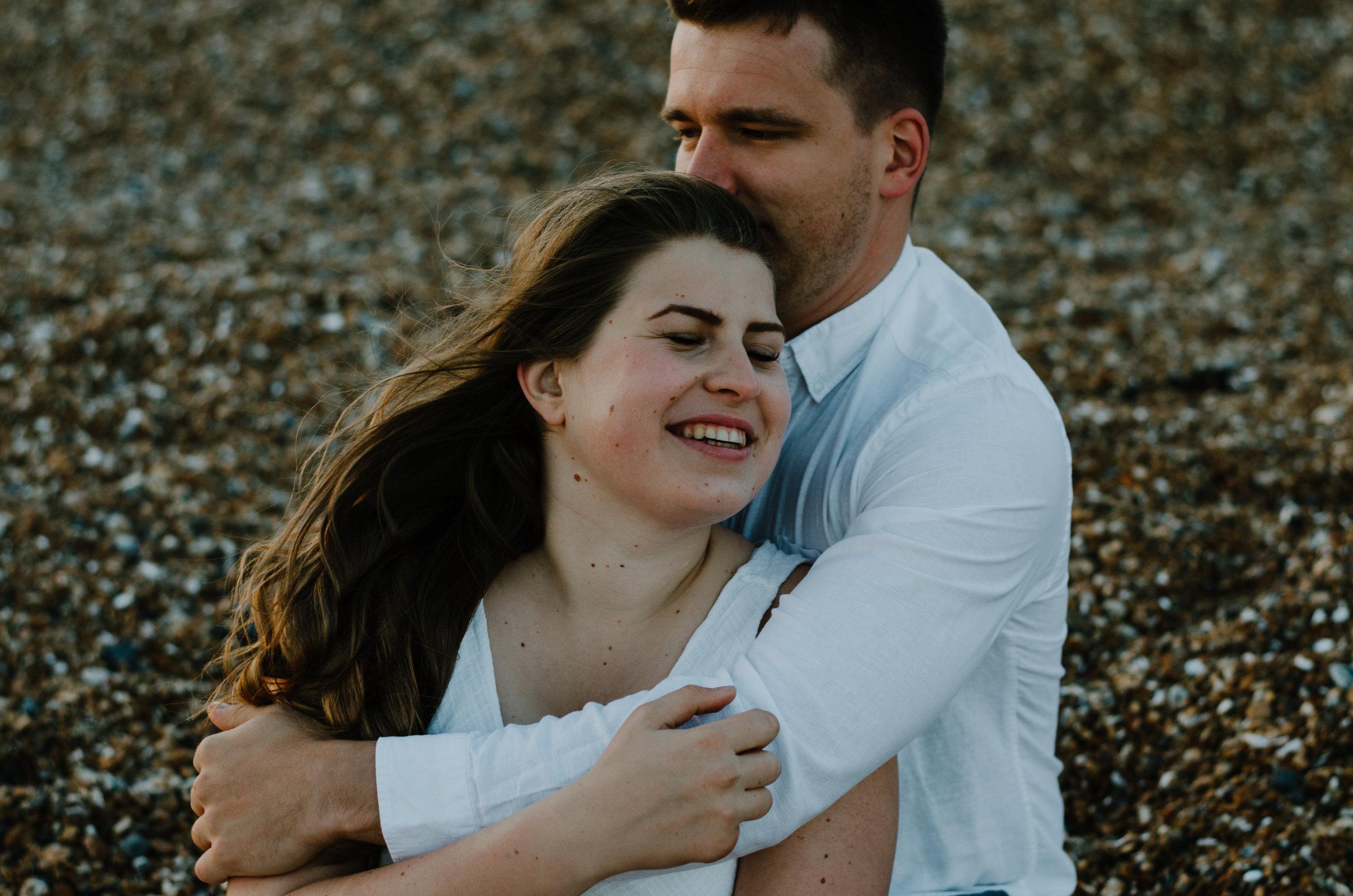 Ieva & Julius - Brighton Beach - Couple Session - Aiste Saulyte Photography-53.jpg