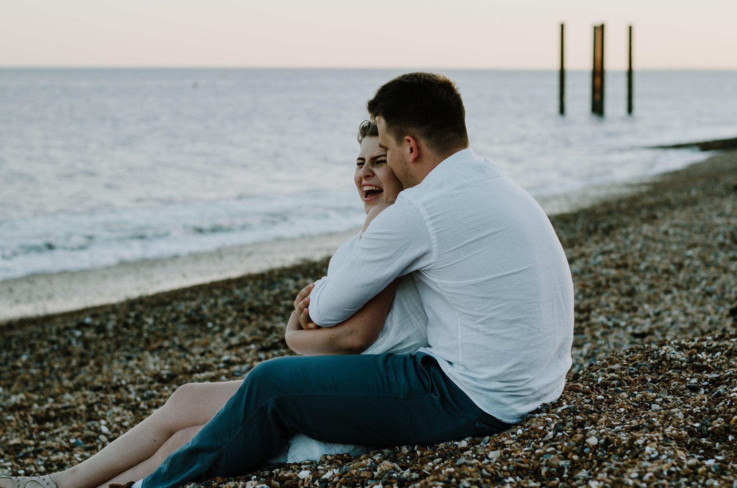 Ieva & Julius - Brighton Beach - Couple Session - Aiste Saulyte Photography-63.jpg