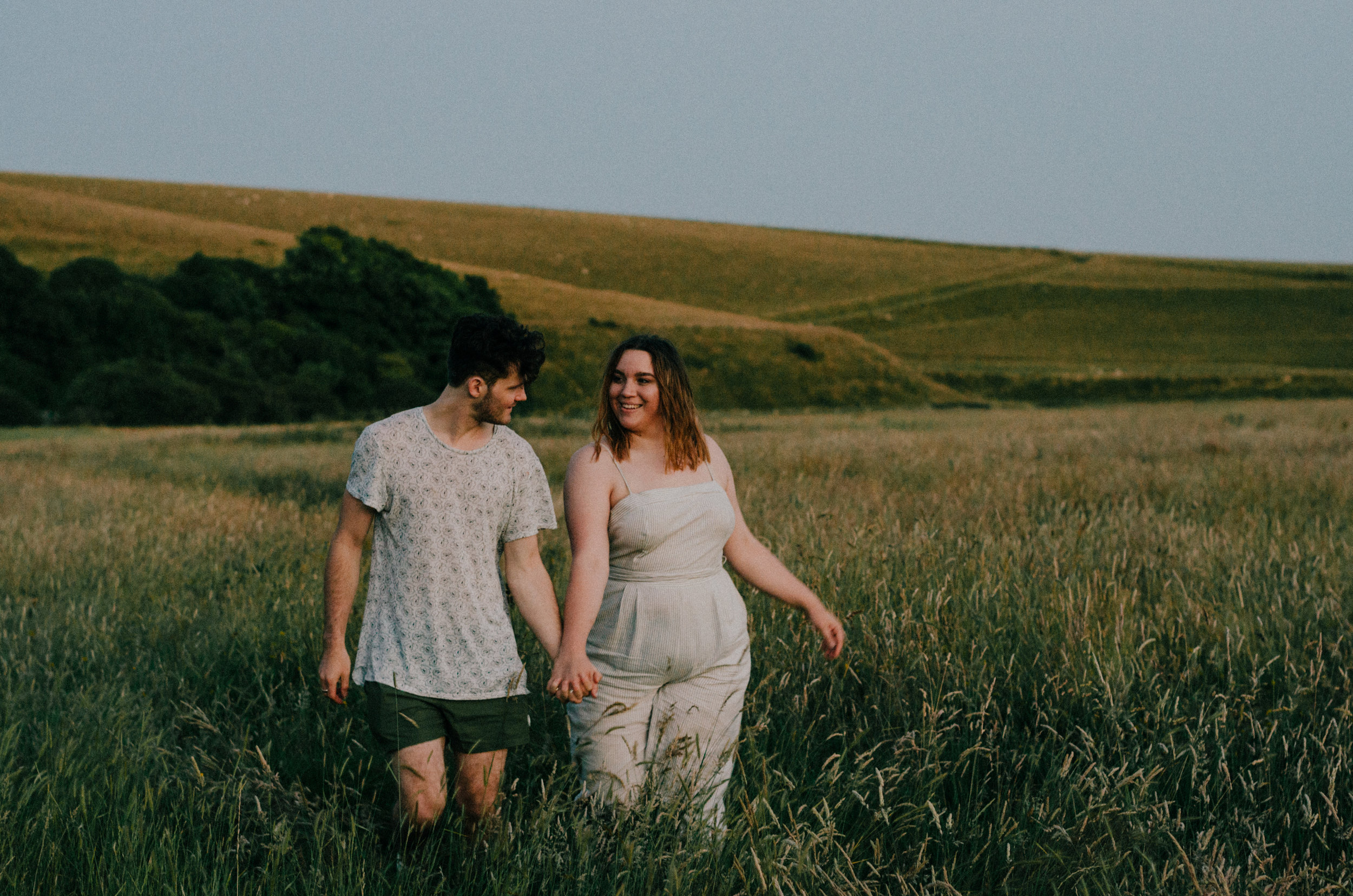 Rebecca & Dougie - Cuckmere Haven - Couple Session - Aiste Saulyte Photography-169.jpg