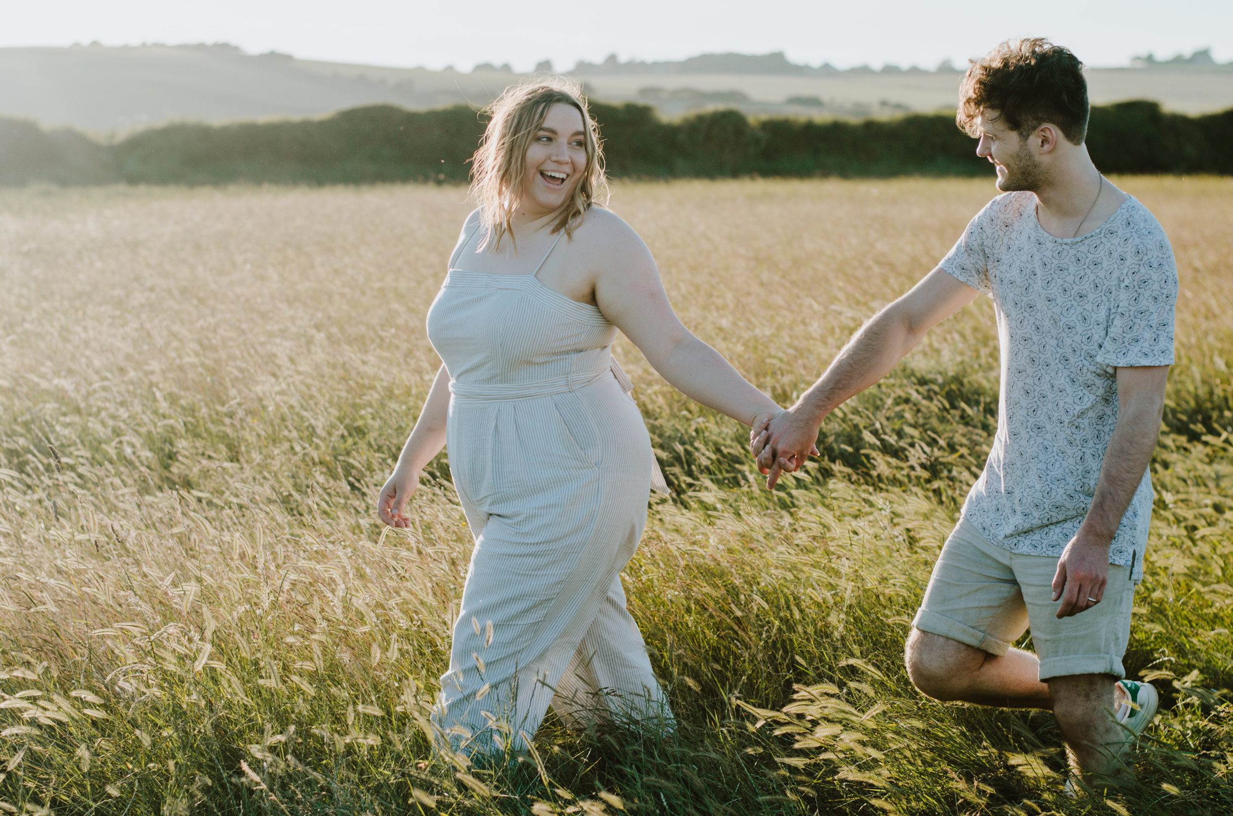 Rebecca & Dougie - Cuckmere Haven - Couple Session - Aiste Saulyte Photography-5.jpg
