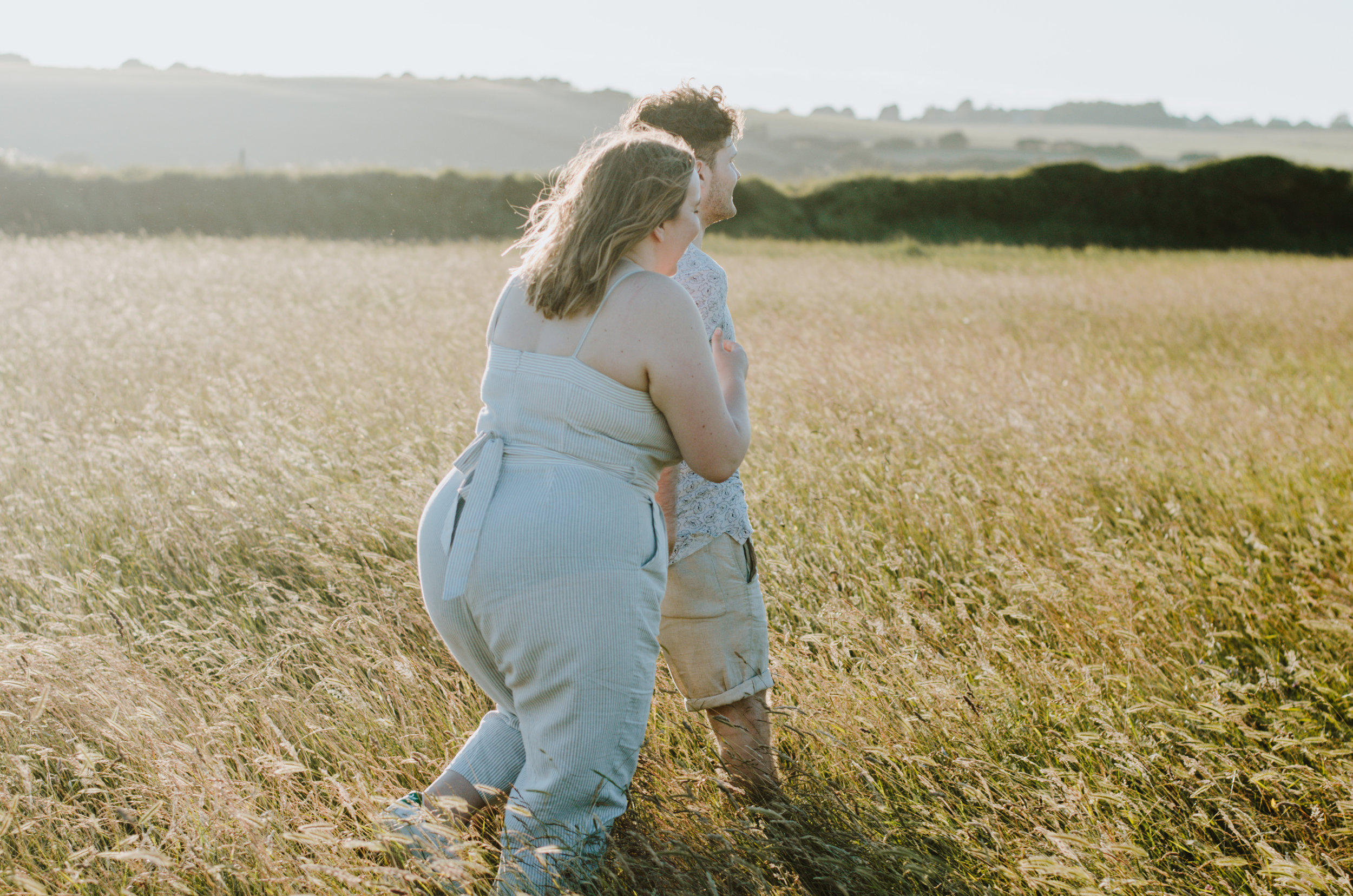 Rebecca & Dougie - Cuckmere Haven - Couple Session - Aiste Saulyte Photography-4.jpg
