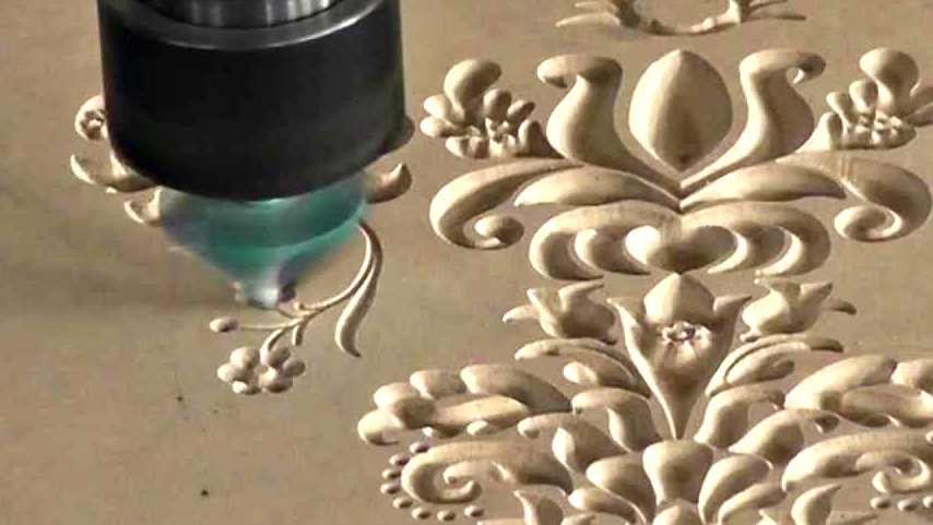 CNC Router Cutting of Decorative Screens