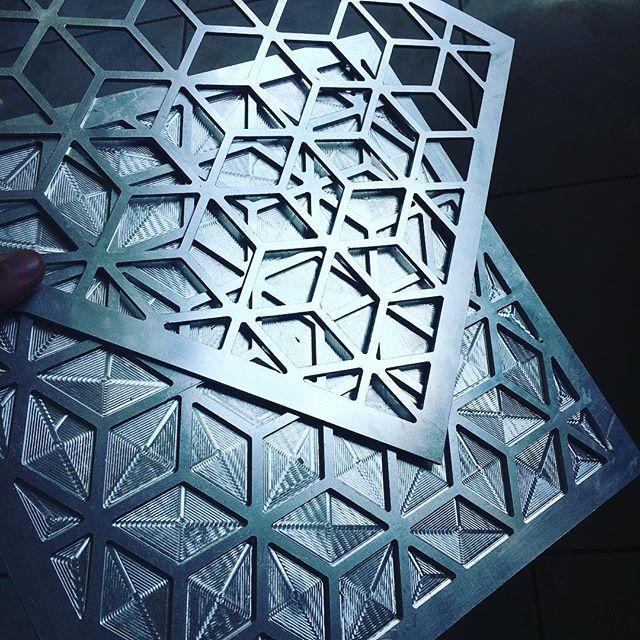 #engraving #mashrabiya #aluminium #abiya