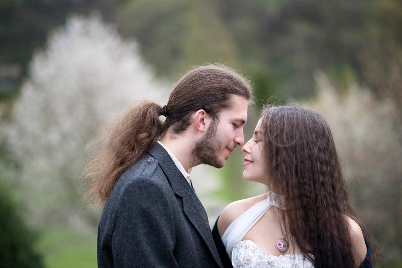 Edinburgh Honeymoon Couple