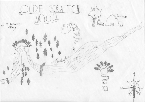 This wonderful map is by Jarvis. Wish it was in my book!