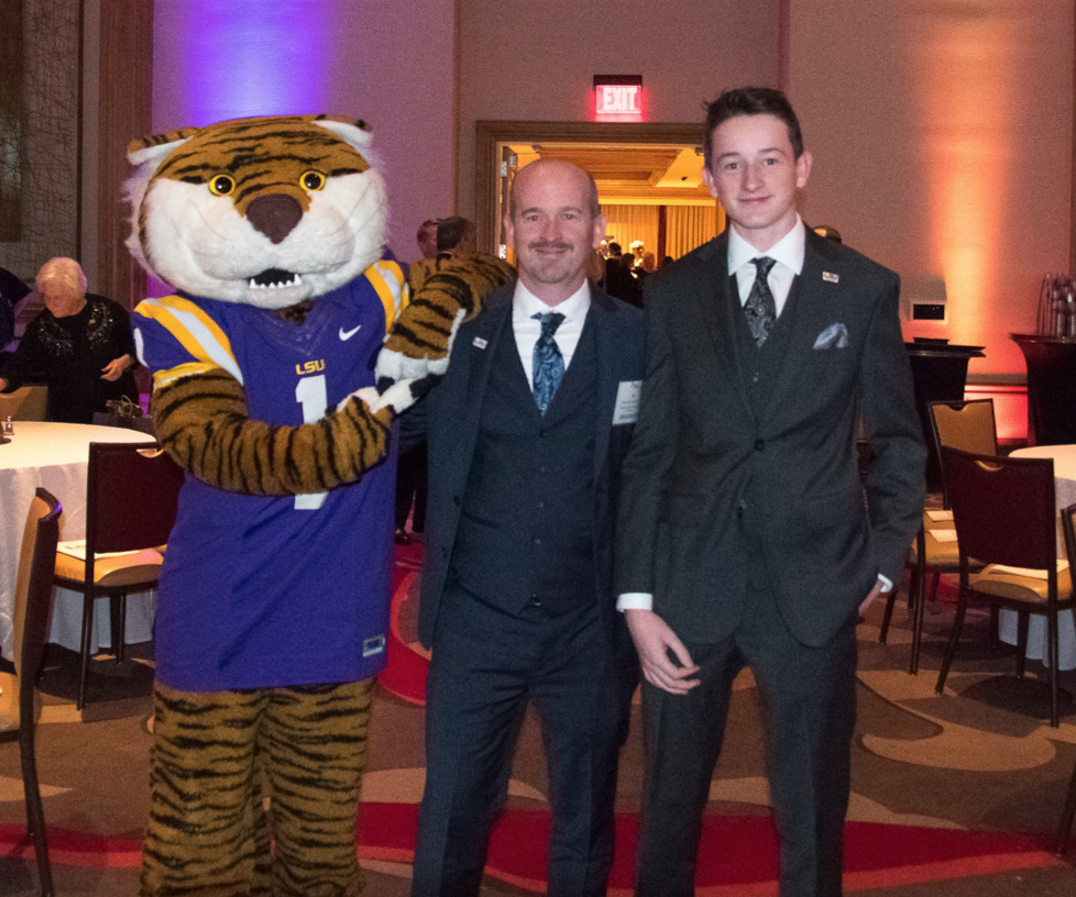 Radterra honored  at LSU 100 Gala