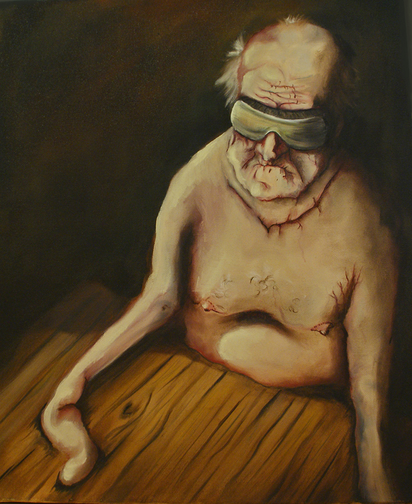 untitled, 2011, 46x38 cm, oil on canvas