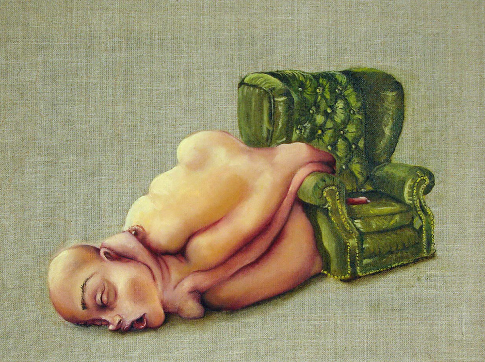 untitled, 2010 30x40 cm, oil on canvas