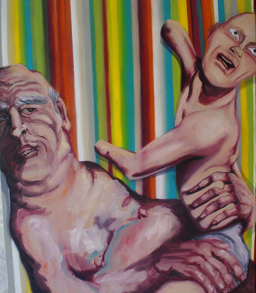 proserpina,2011, 54x46 cm, oil on canvas