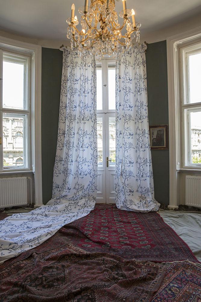 Curtain Installation 2013