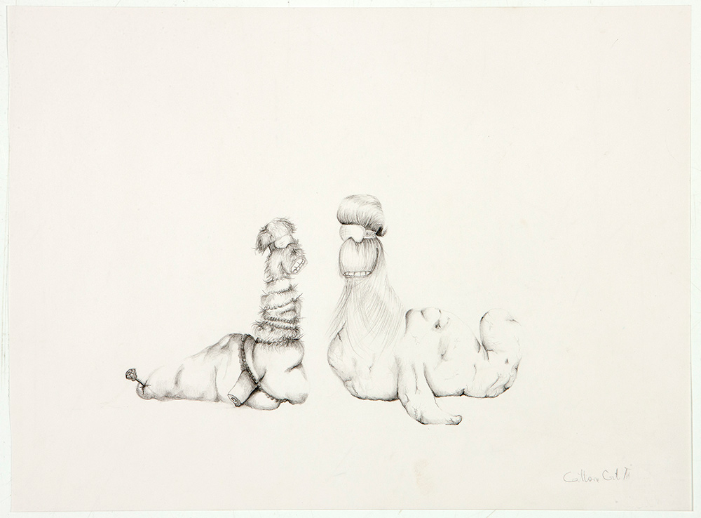 untitled, 2012, 25x35 cm, pencil on paper