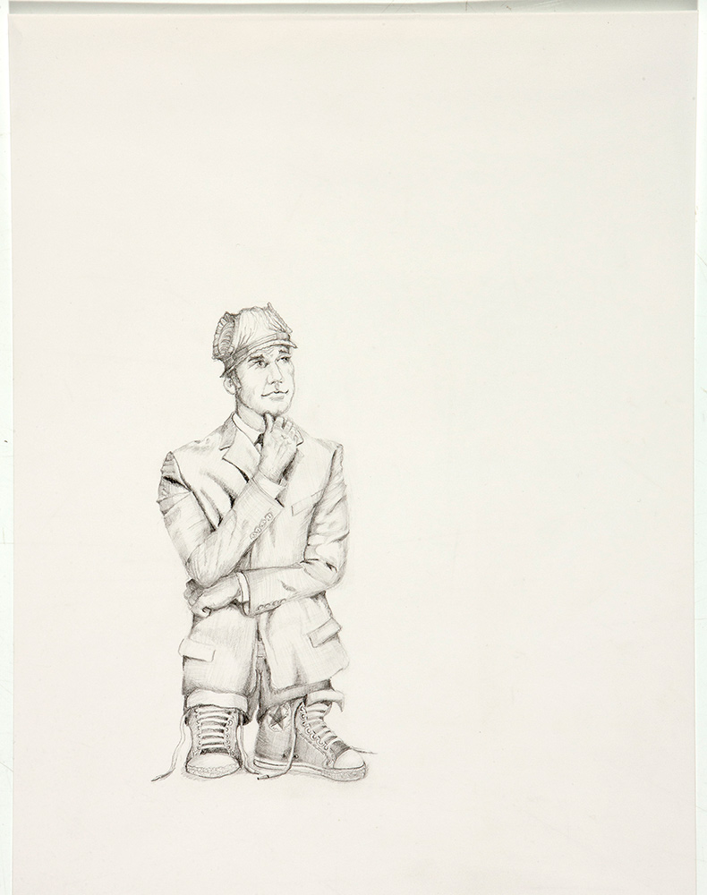 untitled, 2012, 35x25 cm, pencil on paper