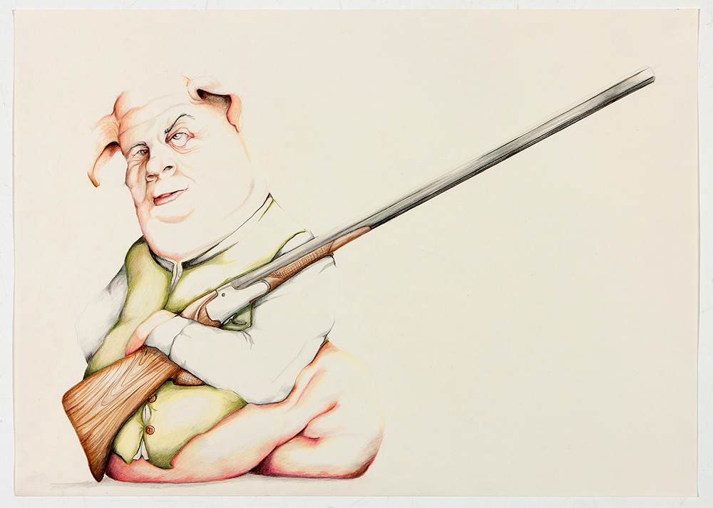 untitled, 2012, 50x70 cm, colour pencil on paper