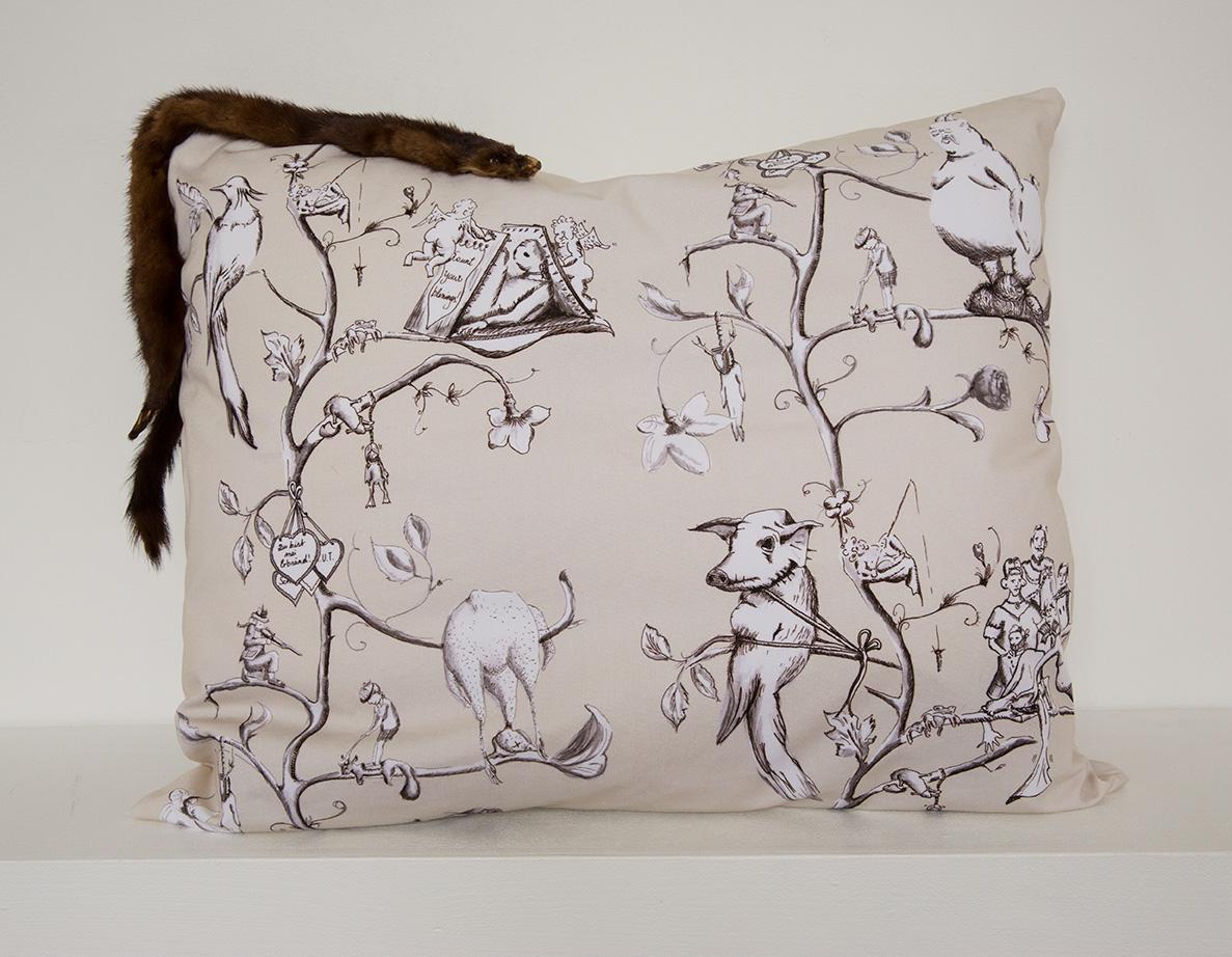 Pillow No. 2 | 60 x 70 cm, 2014 | Edition 1/1