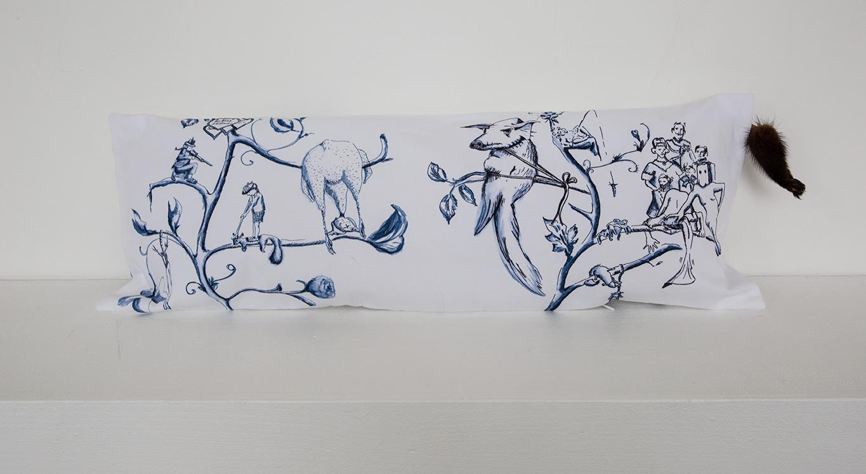 Pillow No. 3 | 25 x 75 cm, 2014 | Edition 1/1