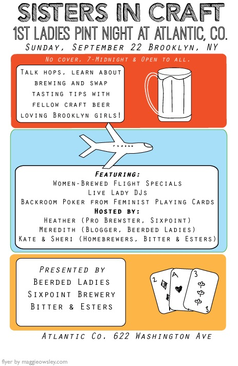 Women & Craft Beer Event | Beerded Ladies