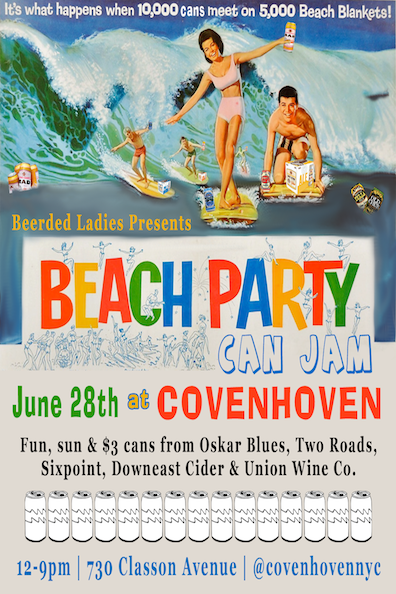 Beach Party Can Jam | Beerded Ladies for Covenhoven